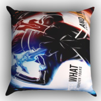 sword art online Z0507 Zippered Pillows  Covers 16x16, 18x18, 20x20 Inches
