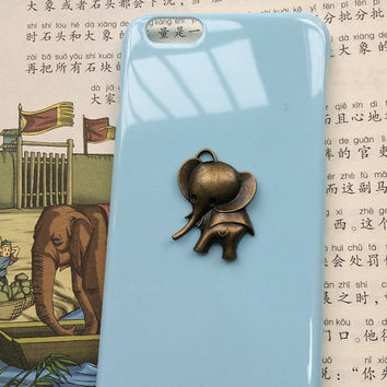 elephent, animal case,personalized protective case for iPhone 6 iPhone 6 plus iPhone5/s, summer gif,t hard case,best friends gift