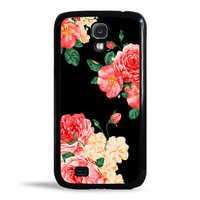 Large Carnation Flowers Case for Samsung Galaxy S4