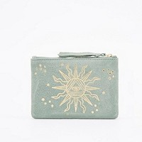Ecote Sun Suede Pouch in Mint - Urban Outfitters