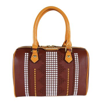CORA STUDDED BOSTON BAG - NEW ARRIVALS