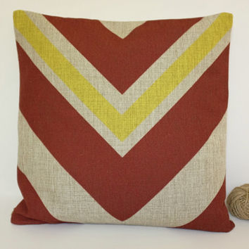 Linen Pillow, Aztec Pillow Cover, Mexican Colourful Pillow Cover, Tribal Pillow Cover, Throw Pillow, Toss Pillow, Sofa Pillow