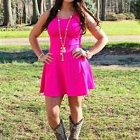 Summer Girl Pink Dress