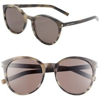 Women's Saint Laurent 54mm Retro Sunglasses