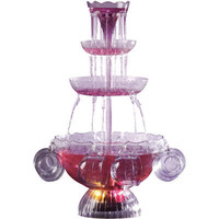 Nostalgia Electrics Lighted Punch Fountain Beverage Set | Meijer.com