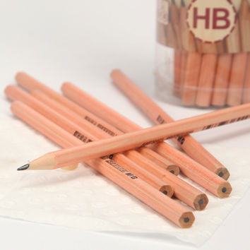 1 Pcs Hb Standard Wood Standard Pencils For School Supplies Children Kids