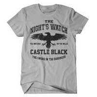 Watchers on the Wall (Black) - Women's T-Shirt