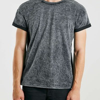 Black Wash Crew T-Shirt - New This Week - New In