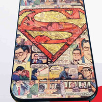 Superman Superhero Comic Book for iPhone 4/4s/5/5S/5C/6/6+, Samsung S3/S4/S5 Case *76*