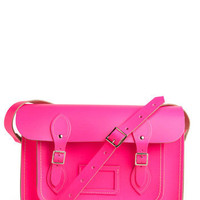 Upwardly Mobile Satchel in Neon Pink - 13 Inches | Mod Retro Vintage Bags | ModCloth.com