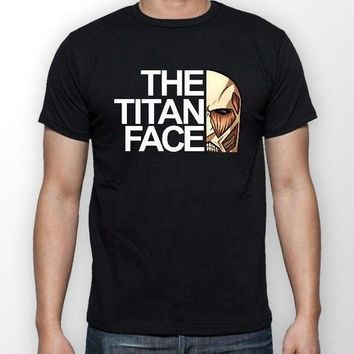 Cool Attack on Titan The  Face  Anime Unisex Tshirt T-Shirt Tee ALL SIZES AT_90_11
