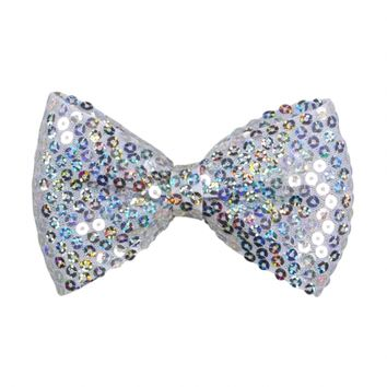 SEQUIN BOW HAIR SNAP | GIRLS HATS & HAIR ACCESSORIES | SHOP JUSTICE