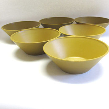 Accalac Acca Ware David Douglas Hand Finished Bowls Set Of Six