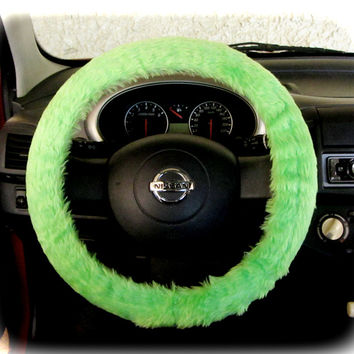 Steering-wheel-cover-for-wheel-car-accessories-Neon-Green