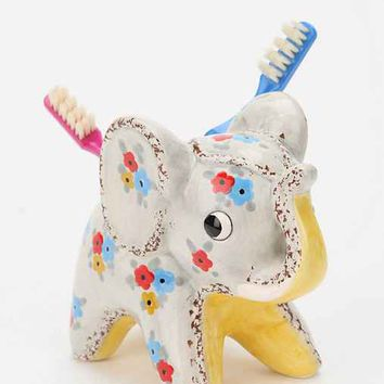 Little Ellie Toothbrush Holder - Grey Multi One
