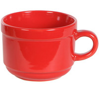 Bulk Jumbo Red Stoneware Mugs, 20 oz. at DollarTree.com