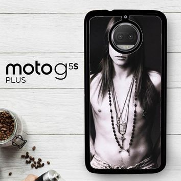 Axl Rose Guns And Roses Wallpaper Y0566  Motorola Moto G5S Plus Case