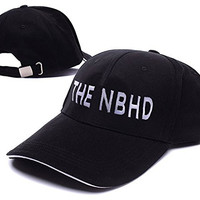 KIMUS The Neighbourhood The NBHD Band Logo Adjustable Baseball Caps Unisex Snapback Embroidery Hats