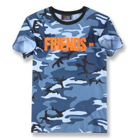 Real Picture men summer VLONE Rocky yeezy kanye west clothing cotton short sleeve t-shirt tee