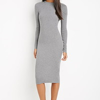 Midi Bodycon Sweater Dress