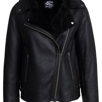 Move Shearling Jacket, Just Female