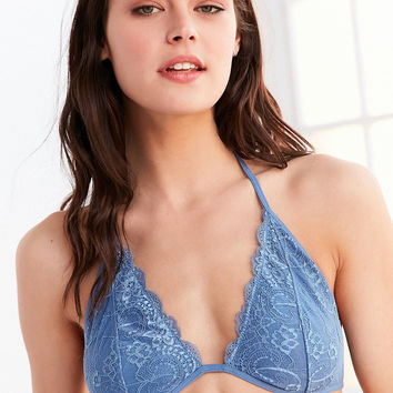 Out From Under Trina Lace Halter Bra | Urban Outfitters
