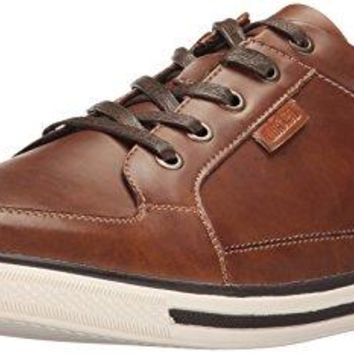 Kenneth Cole Unlisted Men's Crown Prince Fashion Sneaker, Cognac, 10 M US
