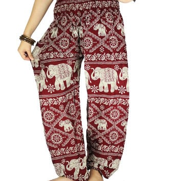 Gypsy pants  Hippie clothes Harem pants Elephant clothes Thai pants Palazzo pants Hippie pants Elephant pants