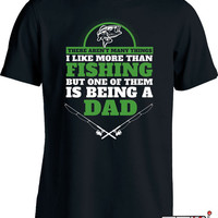 Fishing Dad T Shirt Gifts For Fisherman Fathers Day Fisherman T Shirt Fishing Gifts For Men Fishing Humor Fishing Presents Mens Tee MD-442