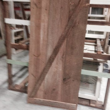 Custom Made Z Pattern Barn Door