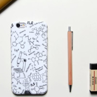 Chemistry fashion Case Cover for Apple iPhone 6 6S 6 Plus 6S Plus 160824-001