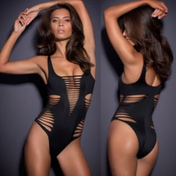 Hollow Out One-Piece Swimsuit