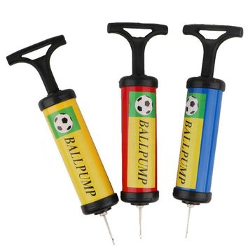 Inflator Ball Pump Needles Valve Adapter Set For Basketball Football Balloons Volleyball And Rugby Color Random