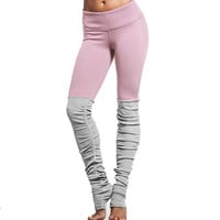 Running Tights Women Fitness Compression Pants High Elasticity Workout Gym Slim Yoga Leggings Sexy Exercise Step Foot Sweatpants