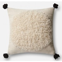 Justina Blakeney Pom Pouf Pillow, White
