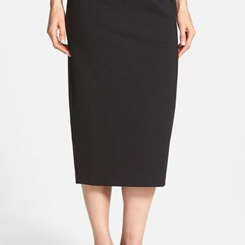 Women's Eileen Fisher Midi Ponte Pencil Skirt,
