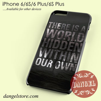 the mortal instruments city of bones quote Phone case for iPhone 6/6s/6 Plus/6S plus