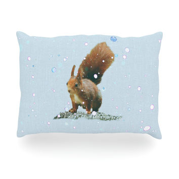 "Monika Strigel ""Squirrel"" Oblong Pillow"