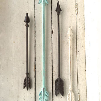 Arrow Wall Art, Arrow Wall Decor, Arrow Decor, Arrow Wall Hanging, Metal Arrow Wall Decor, Tribal Decor, Native American Arrow, Wall Art