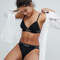 Calvin Klein Heritage Athletic Unlined Lingerie Set at asos.com