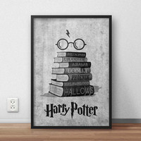 Harry Potter Quotes Black White, (Instant Download) , 300 dpi, Awesome Design Printing, Decoration