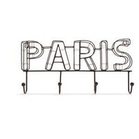 Antique Bronze Paris Wall Rack - Sur La Table