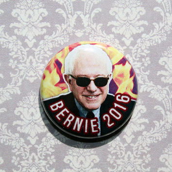 Bernie Sanders- One Inch Pinback Button