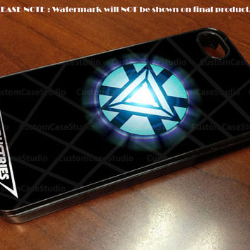 Iron Man Arc Reactor Stark Industries - iPhone 4 / iPhone 4S / iPhone 5 Case Cover