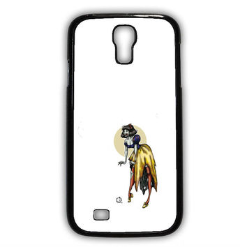 Zombie Princess Abstract Samsung S4 Case