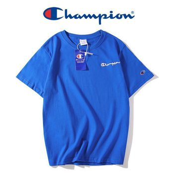 Champion Fashion Casual Shirt Top Tee-13