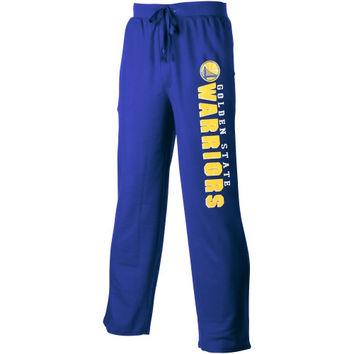 Golden State Warriors Pennant Solid Knit Pants – Royal Blue