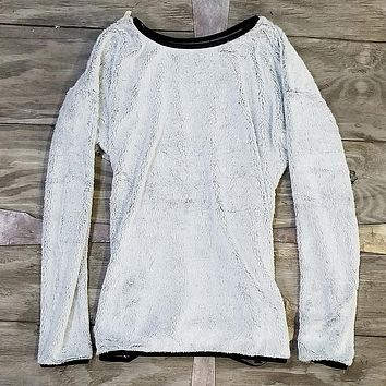 The Visby Frosty Top Sweater in Grey by Nordic Fleece