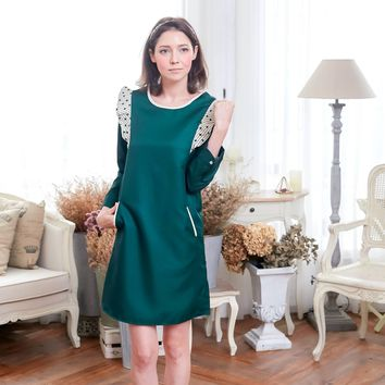 Magic Green Bean Dress