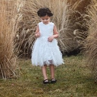 Camilla White Tier Tutu Ballet Dress